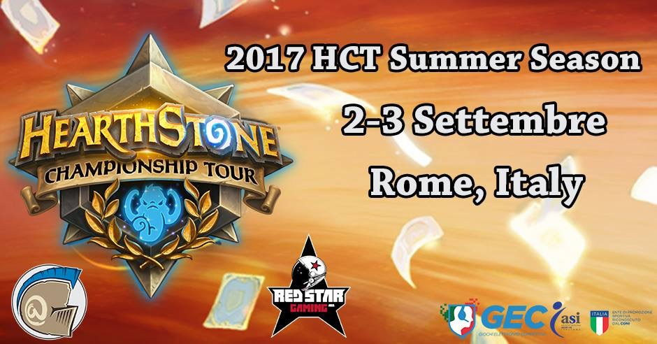2017 HCT Summer Playoff - Roma, Italy